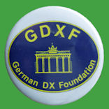 Chapa GDXF - German DX Foundation