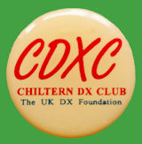 Chapa Chiltern DX  Club - CDXC - INGLATERRA