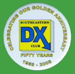 Chapa SOUTHEASTERN DX CLUB - 50th. aniv