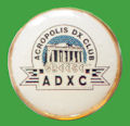 Pin ACROPOLIS Dx CLUB - GRECIA