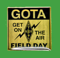 Pin GOTA (GET ON THE AIR) Field Day ARRL
