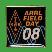 Pin ARRL - Field Day 2008
