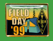 Pin ARRL-Field Day 1999