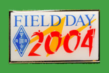 Pin ARRL -  Field Day 2004