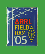 Pin ARRL -  Field Day 2005