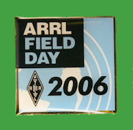 Pin ARRL -  Field Day 2006