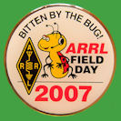 Pin ARRL -  Field Day 2007