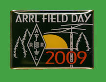 Pin ARRL -  Field Day 2009