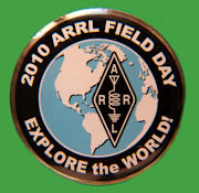 Pin ARRL-Field Day 2010
