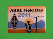 Pin ARRL-Field Day 2011