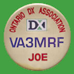 Chapa CANADA - Ontario DX Association - op. VA3MRF