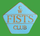 Pin CW FISTS CLUB