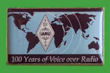 Pin IARU - 100 Years of Voice over Radio