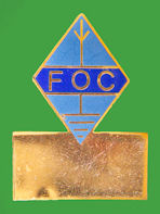 Pin INGLATERRA - FOC First Class CW Operators' Radio Club