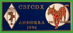 Pin LYNX Dx GROUP - Convencion Andorra 1996 - C37CDX