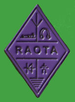 Pin RAOTA - RADIO AMATEUR OLD TIMERS ASSOCIATION