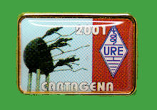 Pin Congreso URE - CARTAGENA 2001