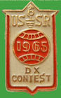 Pin URSS 1965 - Participacion RUSSIAN DX CONTEST