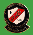 Pin USA - 75 Aniversario Greater Cincinnati ARA - GCARA