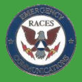 Pin USA-RACES (Servicio de emergencia de radio aficionados (RACES).)